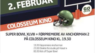 SUPER BOWL XLVIII på Colosseum