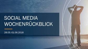 Die Woche in Social Media KW 22 I 2018