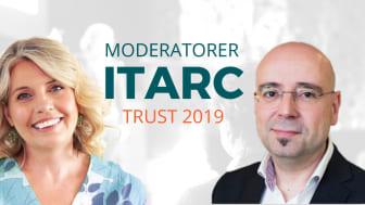 Jessica Cedberg Wodmar och Daniel Akenine är moderatorer på ITARC 2019
