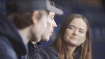 Det nya avsnittet av Frågan handlar om hockey och machokultur. Hanna träffar bl.a. Färjestad BKs Sebastian Erixon och Lucas Ekeståhl Jonsson i Färjestad BK.