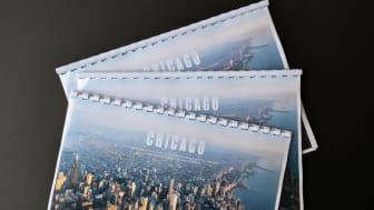 Vårt Chicago-häfte med studieresans innehåll