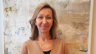 På bild: Helena Björnwall Åström, chef för Regionbibliotek Västerbotten