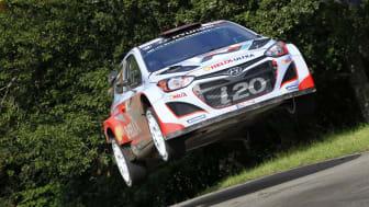 Storeslem for Hyundai i motorsport.