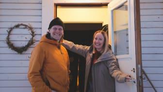 Daniel Oldhammer och Evelina Boström