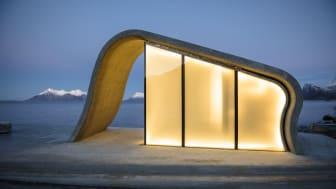Ureddplassen - one of the many divine toilets along the Norwegian Scenic Routes - Photo: Lars Grimsby/Statens Vegvesen