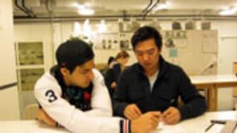 Wijkmanskaelever har besökt Luleå Tekniska Universitet