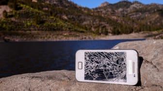 23 procent af alle danskere har ødelagt deres mobil i løbet af det sidste år, viser ny undersøgelse.