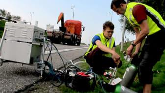Stadsluft och avgaser – IVL mäter utsläpp från vägtrafik mot bakgrund av dieselbluffen