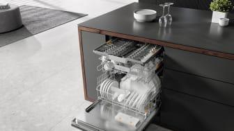 Nya diskmaskiner från Miele: Topputrustade basmodeller med ökad energieffektivitet