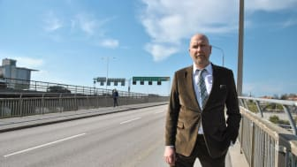 Gustav Hemming (C), regionråd med ansvar för samhällsplanering och infrastruktur.