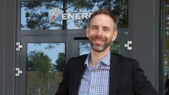 Jönköping Energis vd Fridolf Eskilsson blir Energiföretagen Sveriges ordförande det kommande året. Rollen innebär att driva företagens gemensamma intressen inom energibranschen framåt.