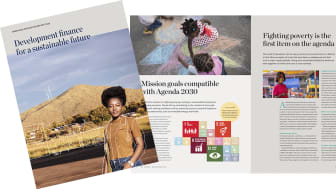 Development finance for a sustainable future - Swedfund Integrated Report 2020