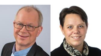 Gäster: Christer Jonsson (C), regionråd i Region Kalmar och ledamot i Sjukvårdsdelegationen samt Marie Morell (M), regionråd i Östergötland och ordförande i Sjukvårdsdelegationen.