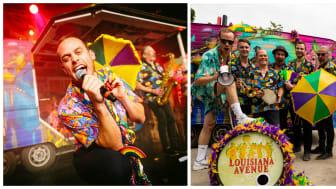 Sätt på er säkerhetsbältet, väck barnen – glädjeorkestern Louisiana Avenue ger sig iväg på turné i sommar!