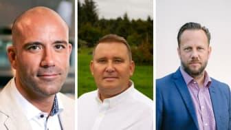 Christoffer Olsson, Morten Bratshaug, Patrik Esperstrand