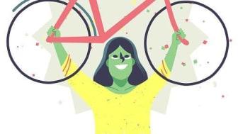 Nu kan alla företag och arbetsplatser i Vänersborg anmäla sig till Cykelvänlig arbetsplats 2021