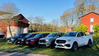 Fords eksklusive spesialutgaver skal styrke Rangers posisjon som Europa og Norges mest solgte pickup