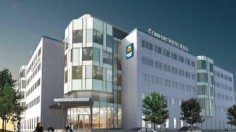 Comfort öppnar nytt hotell i Kista