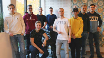 Musikens vänners ordförande, Hannes Kvarnmarker (t v) tillsammans med styrelsen är glada att för alla nya medlemmar.
