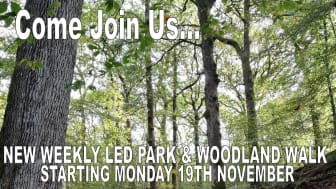 New guided walk through Chesham Wood and parkland