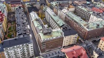 Repslagaren 34 är belägen på Linnegatan 18 på Östermalm Bild: Lars Nybom