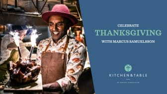 Fira Thanksgiving tillsammans med Marcus Samuelsson på Kungsholmen!
