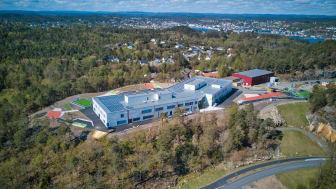 Roligheden skole ligger på Tromøy i Arendal kommune. Foto: Arendal Eiendom KF
