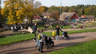 Rekordmånga besökare har hittills besökt Skånes Djurpark under höstlovsveckan.