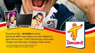 Knäppa bilder på glass med Diplom-Is!
