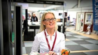 Petra Larsson är tillbaka på Compass Fairs. Foto: Compass Fairs