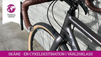 Travelshop bidrar till att göra Skåne till en cykeldestination i världsklass