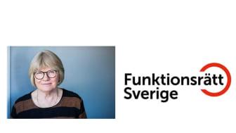 Elisabeth Wallenius, Ordförande Funktionsrätt Sverige. Foto: Linnea Bengtsson