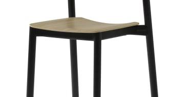 Penne stol från Lammhults. Design: Läufer&Keichel