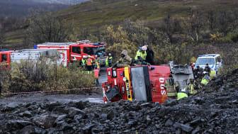 Övningen Barents Rescue genomförs i Kiruna 23-26 september.