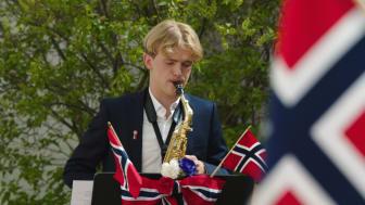 Elev fra Osloskolen - festkonserten 2020