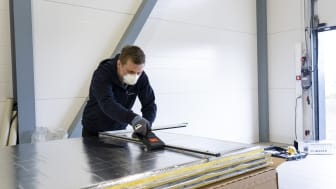 Climaver® ventilasjonskanal er preisolert  og selvbærende.
