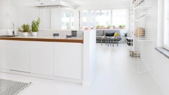 Weber Designgolv snyggt och stabilt golv med levande yta