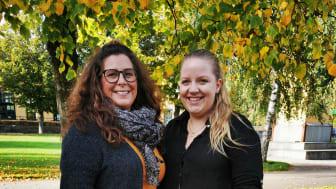 Barnmorskestudenterna  Hanna Scarlini Frida och Norelius undersökt hur kvinnor har upplevt sin vårdtid i samband med barnafödande under pandemin.