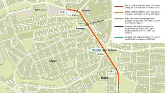 Karta: Örebro kommun.