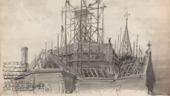 Skissebok XI, Skissebok Fra 1850 til 1859, Wilhelm von Hanno