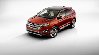 Ford presenterar den helt nya, smarta och rymliga Edge, Fords mest avancerade SUV som ska säljas i hela Europa 2015