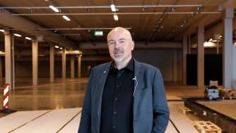 Bodø Storsenter: Administrerende direktør i M Nordvik, Chriss Marken. Foto: Nordvik Gruppen AS / Drone Nord AS.