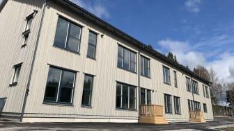 Fasaden JENSEN förskola Nedersta i Västerhaninge