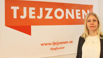 Anna Garvander tillträdde som Tjejzonens första generalsekreterare i mars 2018.