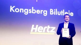 Lokalt initiativ ga Hertz Kongsberg pris for årets image
