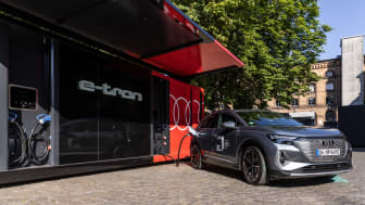 Mobil opladning af Audi Q4 e-tron