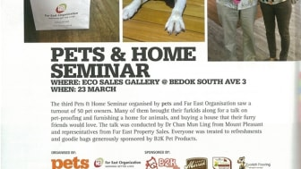 Evorich Flooring Featured in Pets and Home Seminar