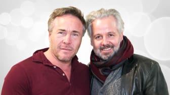 """BLIR PROGRAMLEDERE SAMMEN: Michael Andreassen og Ari Behn leder """"Ari & Michael"""" på P4 hver søndag."""