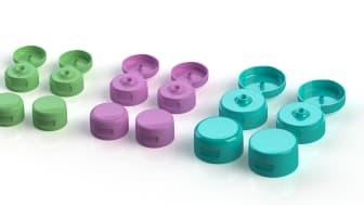 Emballator lanserar marknadstäckande produktfamilj med fliptop-hattar