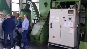 Provkörning i kross och centrifug hos Steimel GmbH